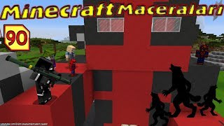 Venom Yavru Kurt Adamları Yakaladı (Örümcek Adam Minecraft Maceraları 90)