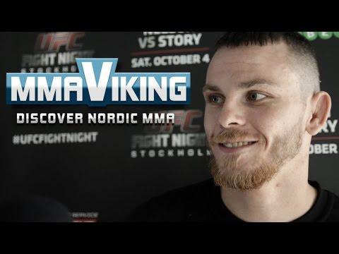 "Niklas Bäckström UFC Sweden 3 ""I feel dangerous as shit and I will bring something spectacular"""