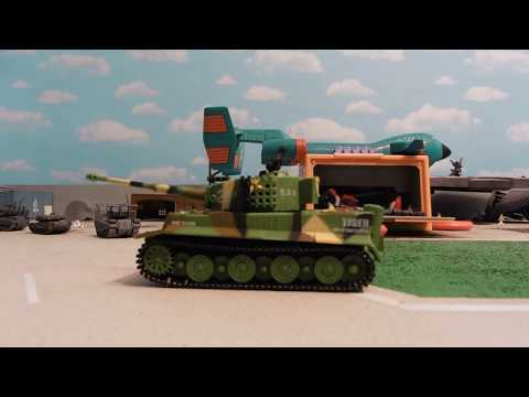 THE ARMOR CORPS! REMOTE CONTROL TANK 1:27 SCALE from SGILE!