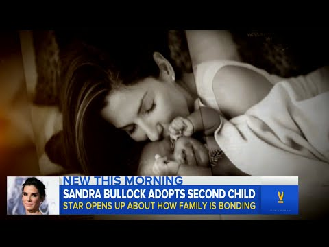 Sandra Bullock Adopts Daughter from Foster Care