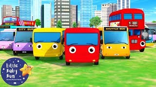 Little Baby Bum | Different Types of Buses | +More Nursery Rhymes and Kids Songs | Kids Videos