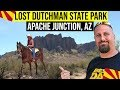 Lost Dutchman State Park, Apache Junction, AZ | Fun Things To Do In Arizona | Phoenix