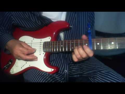 Ye Wada Raha On Electric Guitar