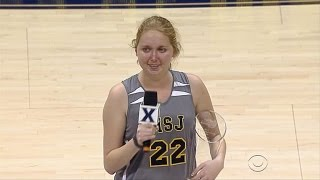 Terminally ill basketball player Lauren Hill gets her wish