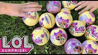 NEW Jelly Layer GLAM GLITTER LOL SURPRISE SERIES - LOL Surprise Dolls Confetti Pop Series 3