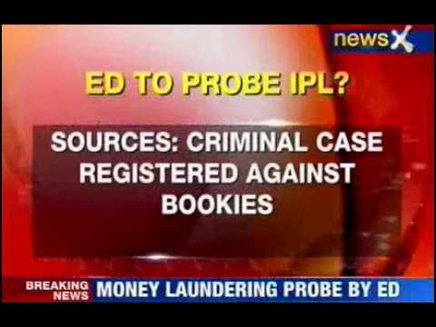 ED begins money laundering probe in IPL fixing case