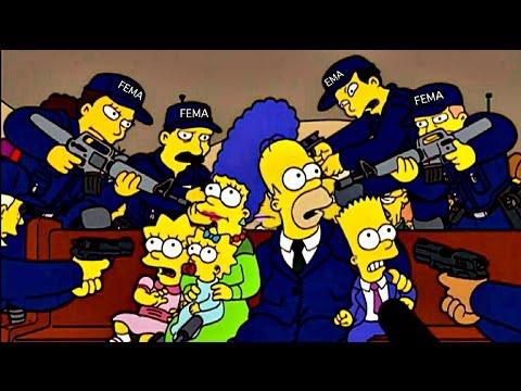 The Simpsons FEMA Warning