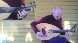 Oud training: fast modulating taksim