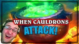When Cauldrons Attack ~ Hearthstone Witchwood