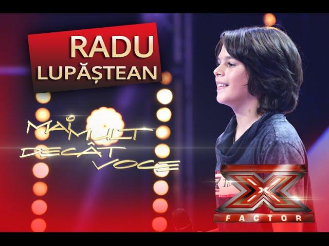 Bruno Mars - When I Was Your Man. Vezi aici cum cântă Radu Lupăşteanu la X Factor!