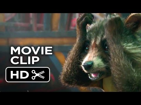 Guardians of the Galaxy Movie CLIP - Prison Break (2014) -Bradley Cooper Movie HD