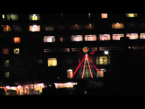 紀伊勝浦の足湯と夜のホテル浦島