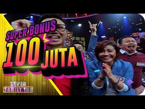Dahsyaatt!!! MANTILI Berhasil Mendapatkan Super Bonus 100 Juta!!! - Super Family 100