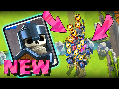 NEW GUARD TROOP :: Clash Royale :: This Update is Amazing!