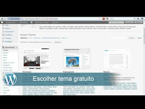 Criar site gratuito wordpress