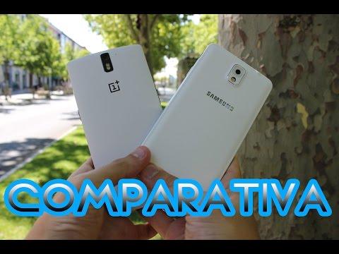 Comparativa OnePlus One vs Galaxy Note 3 en Español