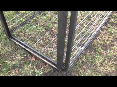 Florida Wild Hog Trapping Building a New Trap