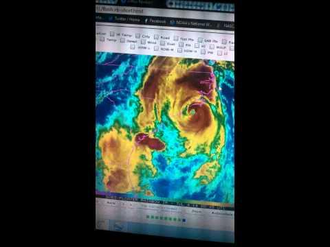 Hurricane Arthur: Landfall pending