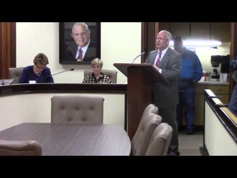 Bowie County Commissioners Court, Monday 13 April 2015