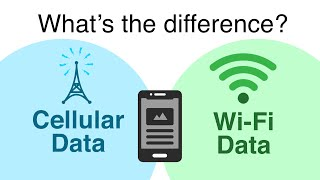 What is the Difference Between Cellular and Wi-Fi Data?