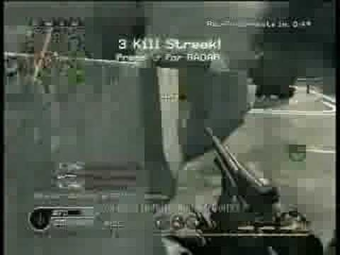 Call of Duty 4 Sick Grenade Kills