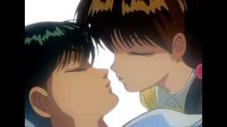 Keiko almost kissed Yusuke