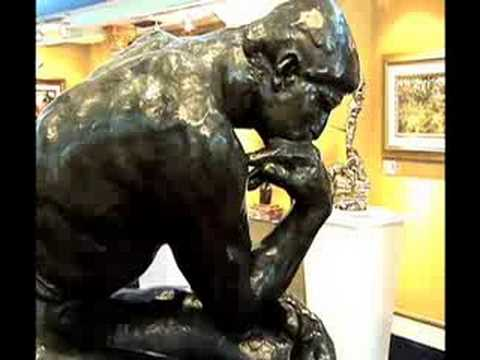 Auguste Rodin- The Thinker