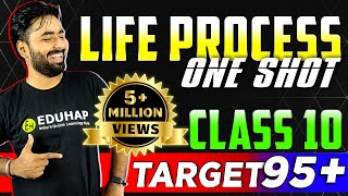 LIFE PROCESS- FULL CHAPTER || CLASS 10 SCIENCE- CHAPTER 6