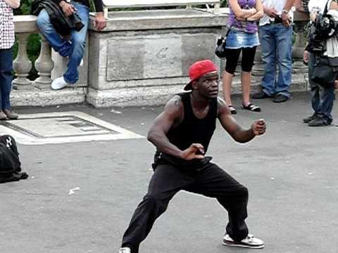 Танец Монмартра. Danse de Montmartre. Animation.