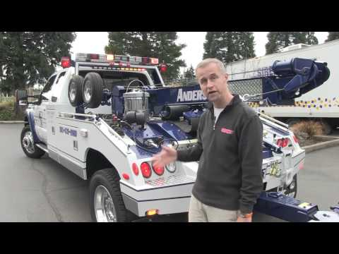 Sirennet presents an Anderson Towing Tow Truck Wrecker