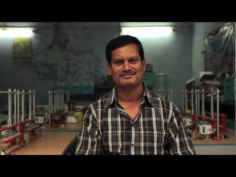 "DFF #001 ""Low-cost Sanitary Napkin Machine"" by Arunachalam Muruganantham"