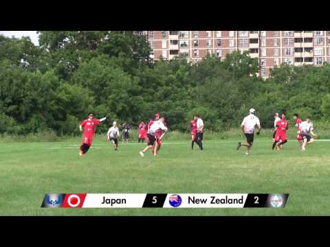 2013 WU23UC - Day 2 - Japan vs New Zealand (Open Division)