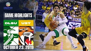 DLSU vs. UST - October 23, 2019  | Game Highlights | UAAP 82 MB