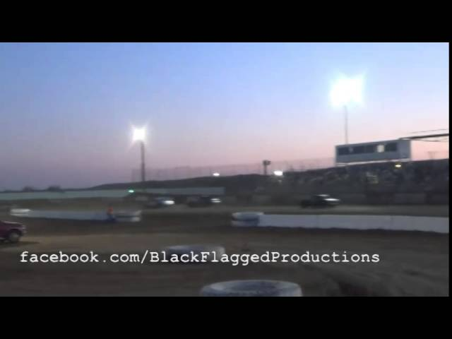 Pure Stock Heat Race #1 At CSP April 12th 2014