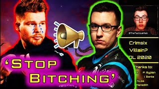 "Crimsix: The ""Crybaby"" Villain?? - Aches Claps Back! 