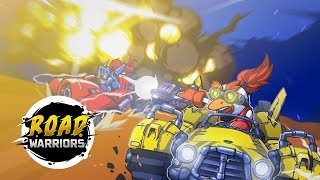 Road Warriors — THE action-packed intergalactic one-touch racing game!