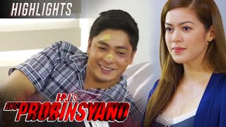A morning greeting from Roxanne makes Cardo smile | FPJ's Ang Probinsyano (With Eng Subs)