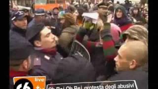 www.c6.tv - O Bej O bej, tensioni in Cadorna: Vogliamo lavorare!