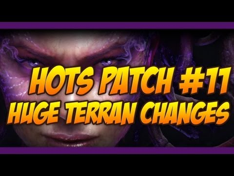 Heart of the Swarm Beta Patch 11 - REACTORED REAPERS?! INSTANT SIEGE TANKS?!