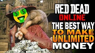 The BEST Way To Make TONS Of Money In Red Dead Online