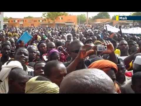 France facing Mali transition challenges: Mali youths protest over France's alleged Tuareg bias