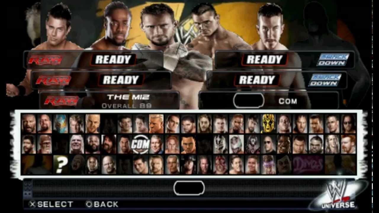Wwe Svr 2011 Psp Hack Download