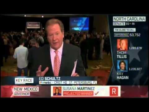 Ed Schultz melts down over Scott Walker victory