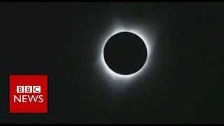 A total solar eclipse sweeping across the US- BBC News by : BBC News