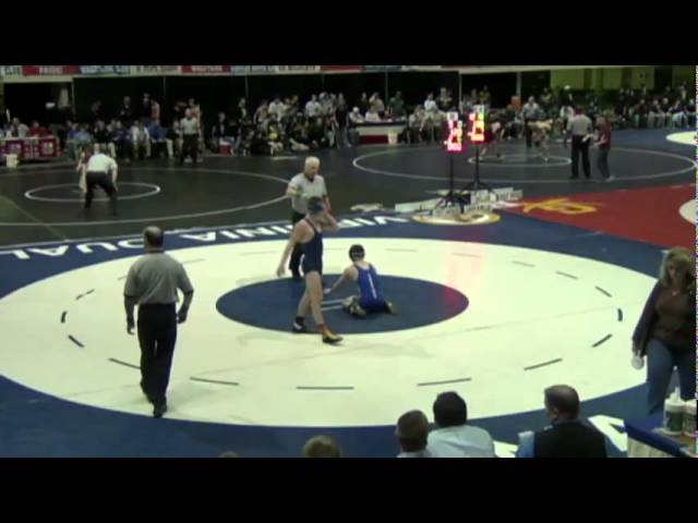 120- Dalton Macri (Canon Mac) vs. Kyle Dulaney (Christiansburg)