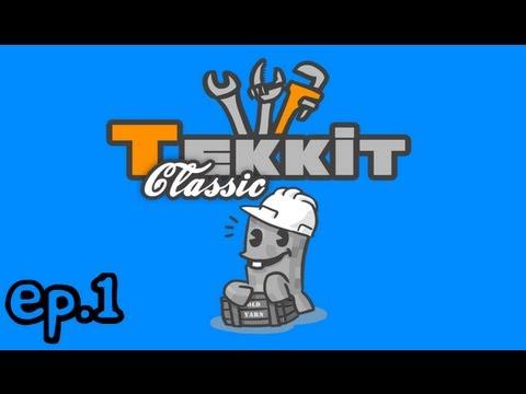Tekkit Classic | Episode 1 | The Basics