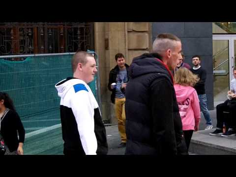 Glasgow Neds Meet The Knife Juggler