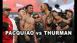 PACQUIAO vs THURMAN