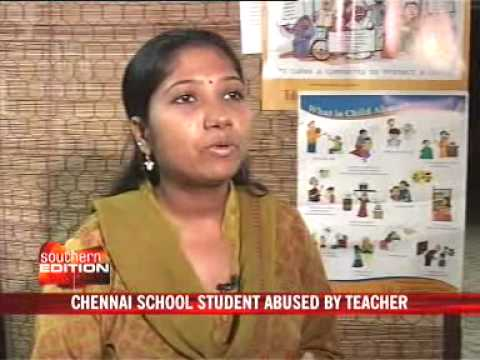 Chennai School Student Abused By Teacher video