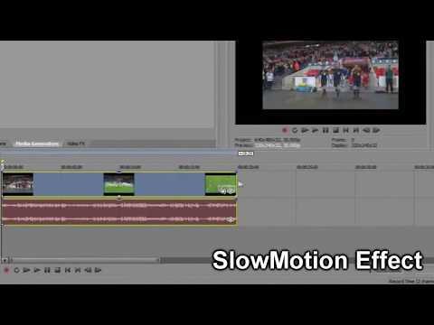 Sony Vegas Pro 12 - Cara Mempercepat dan Memperlambat Video